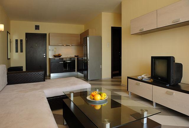 Отель Хевен - апартамент с одной спальней с видом на море